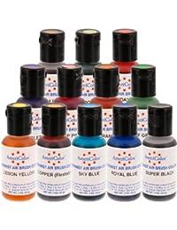 Favor 12 Color AmeriMist Cake Decorating Paint Kit .7 OZ online