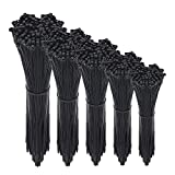Cable Zip Ties,500 Packs Self-Locking