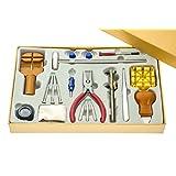 SE JT-WK1015 19-Piece Watch Repair Tool Kit