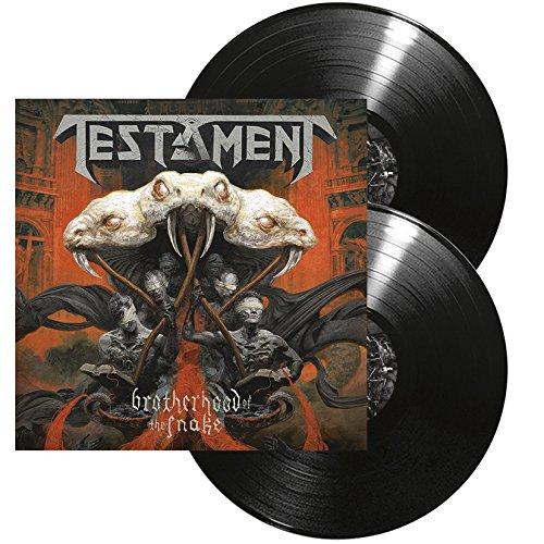 Vinilo : Testament - Brotherhood Of The Snake (Gatefold LP Jacket, Colored Vinyl, Black, 2 Disc)