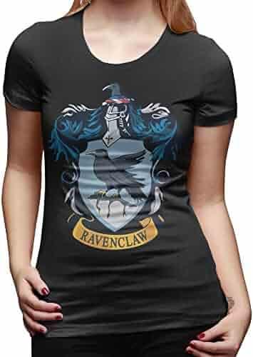Harry Potter Hogwarts Juniors Black Hockey T-Shirt