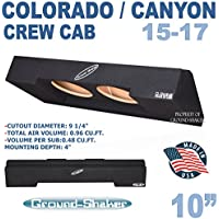 2015-2017 CHEVY COLORADO & GMC CANYON CREW-CAB SUBWOOFER BOX