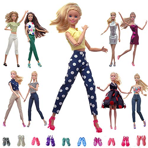 More outfits to fit Barbie