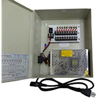 CIB 16CH Output 12 V DC CCTV Distributed Power Supply Box for Security Camera...