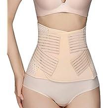 eDealMax Color de piel de la belleza del Cuerpo Postparto Conformación del vientre de la talladora