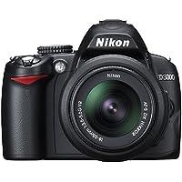 Nikon D3000 10.2MP Digital SLR Camera with 18-55mm f/3.5-5.6G AF-S DX VR Nikkor Zoom Lens Basic Facts Review Image