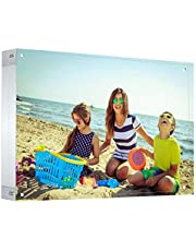 Acrylic Magnetic Photo Frame Block Picture Display Desktop Bookshelf Standing,Double Sided Thick Picture Frames