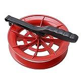 Mxfans 17.6cm Dia DIY Wheel Kite Winder Reel Handle 50m Line Winder for Kids
