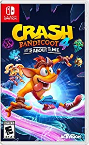 Crash 4: It's About Time - Nintendo Sw