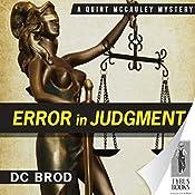 Error in Judgment | D. C. Brod