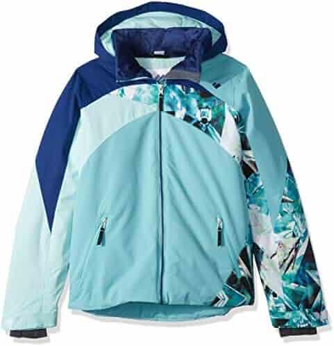 39addd532117 online here 24dfd 04d78 obermeyer girls taja print jacket winterkids ...