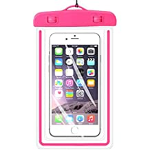 "Universal Funda Impermeable, ibarbe Cellphone Dry Bag Pouch Outdoor para iPhone 8Plus 76S 6PLUS se 5S, 5C y 5, Galaxy S8S7S6Edge, Note 54, LG G6G5, HTC 10, Sony, Nokia,, dispositivos de hasta 5.7"" Diagonal (Verde"