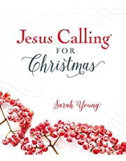 Jesus Calling for Christmas, Padded Hardcover, with full Scriptures
