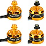 BangBang 4X Racerstar Racing Edition 2205 BR2205 2600KV 2-4S Brushless Motor Yellow For 210 X220 250 280