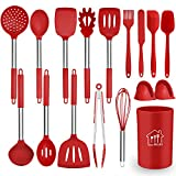 Silicone Cooking Utensil Set,Kitchen Utensils 17