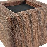 MIIX HOME / Bed Risers 3 Inch | Heavy Duty Wood
