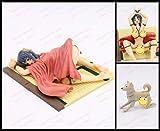 Hentai anime bound kimono girl & dog action figure white nobox