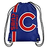 FOCO Chicago Cubs Big Logo Drawstring Backpack