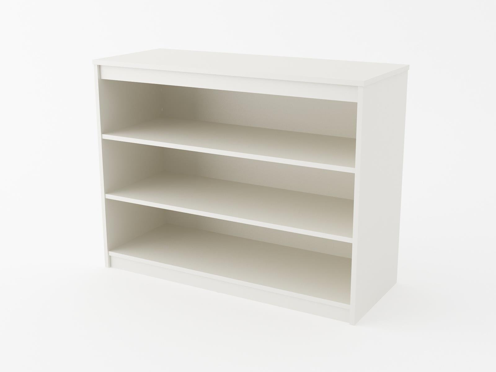 Cosco Products Elements Bookcase, White Stipple