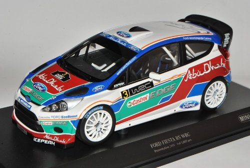 Minichamps Ford Fiesta RS WRC Präsentation 2011 JA8 2008-2012 1/18 Modell Auto mit individiuellem Wunschkennzeichen