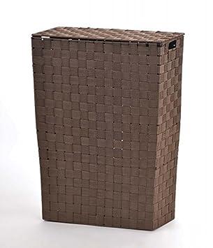 Wäschesammler Design design nischenwäschekorb braun wäschesammler
