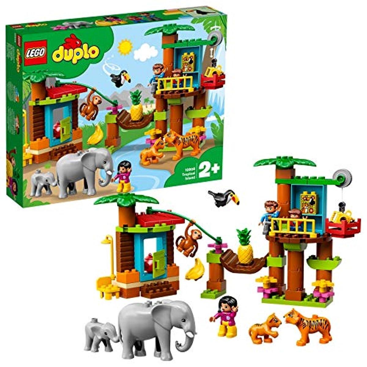 [해외] 레고(LEGO) 듀플로 세계의 동물 정글 탐험 10906 교육 완구 블럭 장난감 소녀 사내 아이