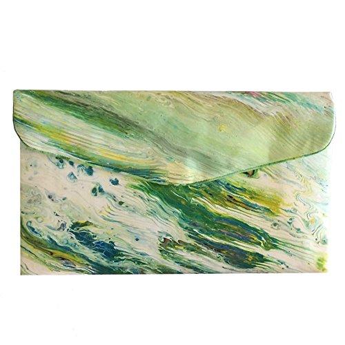 Tidal Rhythms OOAK by Elaine Designs Purses