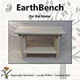 Deluxe Children's Personal Sitting Bench (20''×11''×13'' tall) UNFINISHED PINE - Made in the USA