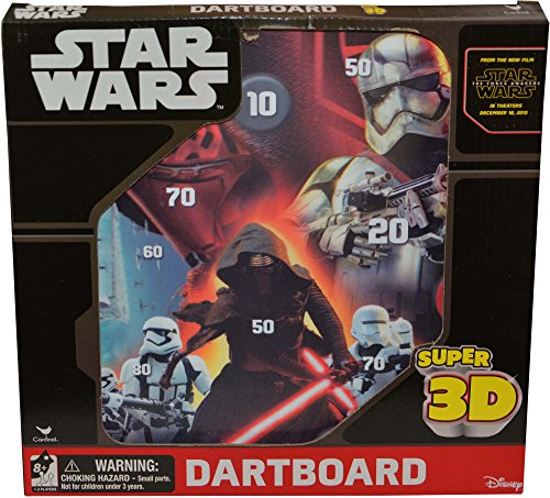 UPD Star Wars Episode VII Super 3D Magnetic Dartboard by Cardinal