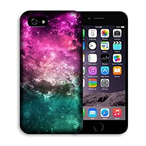 """Casestars design Purple space galaxy nebula star Protective 3D White Case Cover for Apple iPhone 6 plus 5.5"""""""