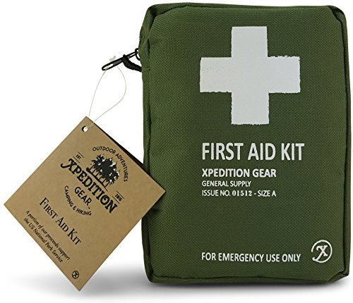 Xpedition Gear Vintage Travel Camping And Hiking Emergency Medical Survival First Aid Kit