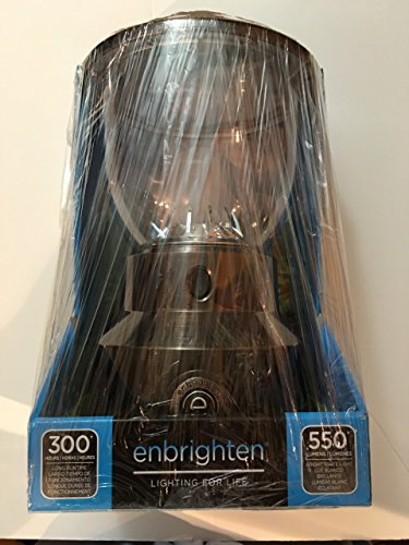 Enbrighten Ge General Electric Licensed Super Bright LED Camping Emergencies Outdoor Lantern (General Electric Usb)