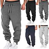Forthery Mens Joggers Pants Sweatpant Quick Dry