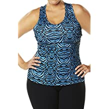 Racerback Workout Top For Women - Also in Plus Sizes - Vivid BlueZ 3X