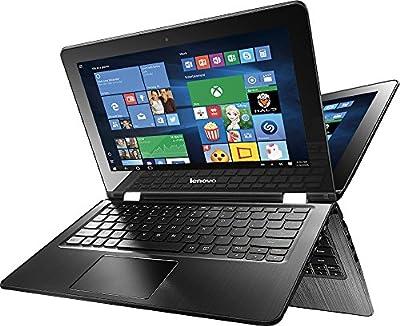 2016 Newest Lenovo Flex 3 2-in-1 11.6 inch HD Touch-Screen Convertible Laptop, Intel Celeron N3060 processor 1.6GHz, 2GB RAM, 64 SSD, WiFi-b, Bluetooth, HD Webcam, HDMI, Windows 10