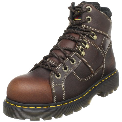 (Dr. Martens Ironbridge Safety Toe Boot,Teak,10 UK/12 M US Women's/11 M US Men's)