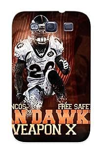 Design For Galaxy S3 Premium Tpu Case Cover Denver Broncos Protective Case