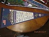 2001 Arizona Diamondbacks signature World Series pennant