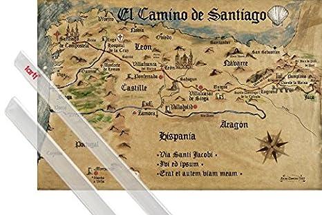Amazon.com: Set: Way of St. James, El Camino De Santiago ...