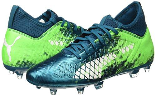 De Bleu Chaussures Football 18 deep Homme Future Gecko puma green Fg 3 ag Lagoon White Puma gxfBU4qwB