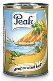 Peak Evaporated Full Cream Milk, 13 Fluid Ounce (Pack of 4)