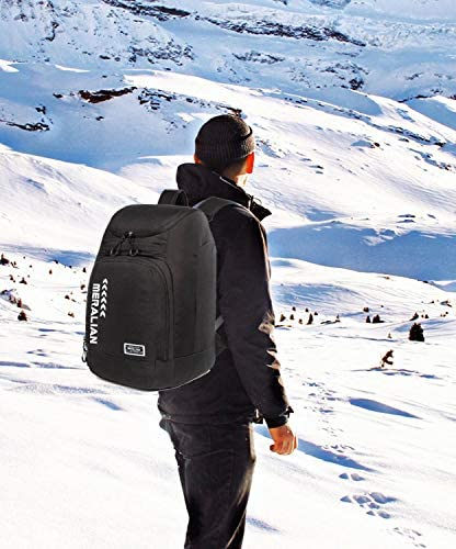 AIRTTUZ Ski Boot Bag - Ski and Snowboard Boots Backpack,Excellent for Travel with Waterproof Exterior & Bottom - for Men, Women and Youth.