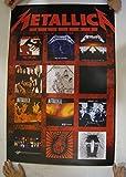 Metallica Poster Album Covers Commercial Metalica