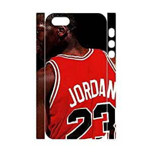 diy zhengCool Painting Michael Jordan Customized 3D Cover Case for Ipod Touch 5 5th /,custom phone case case-688970