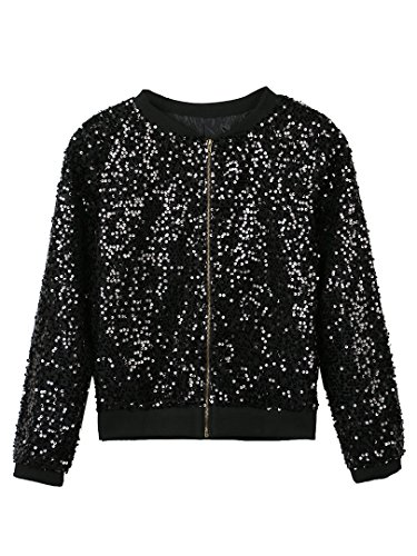 Choies Womens Sequin Detail Sleeve
