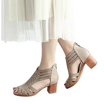 5517ad5b509 Amazon.com: Women Sandals, NEARTIME Spring/Summer Ladies Crystal ...