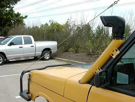 BILLET4X4 Safari Snorkel AIR RAM - 3 inch (4X4 Off-Road Vehicles)