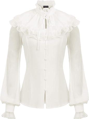 Victorian neckline blouse /'Happy days/'