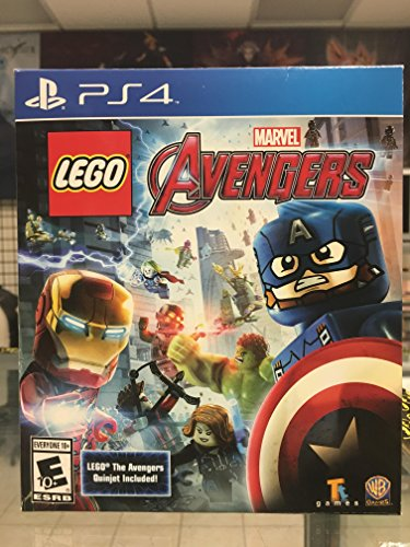 Price comparison product image PS4: LEGO MARVEL AVENGERS WITH LEGO AVENGERS QUINJET