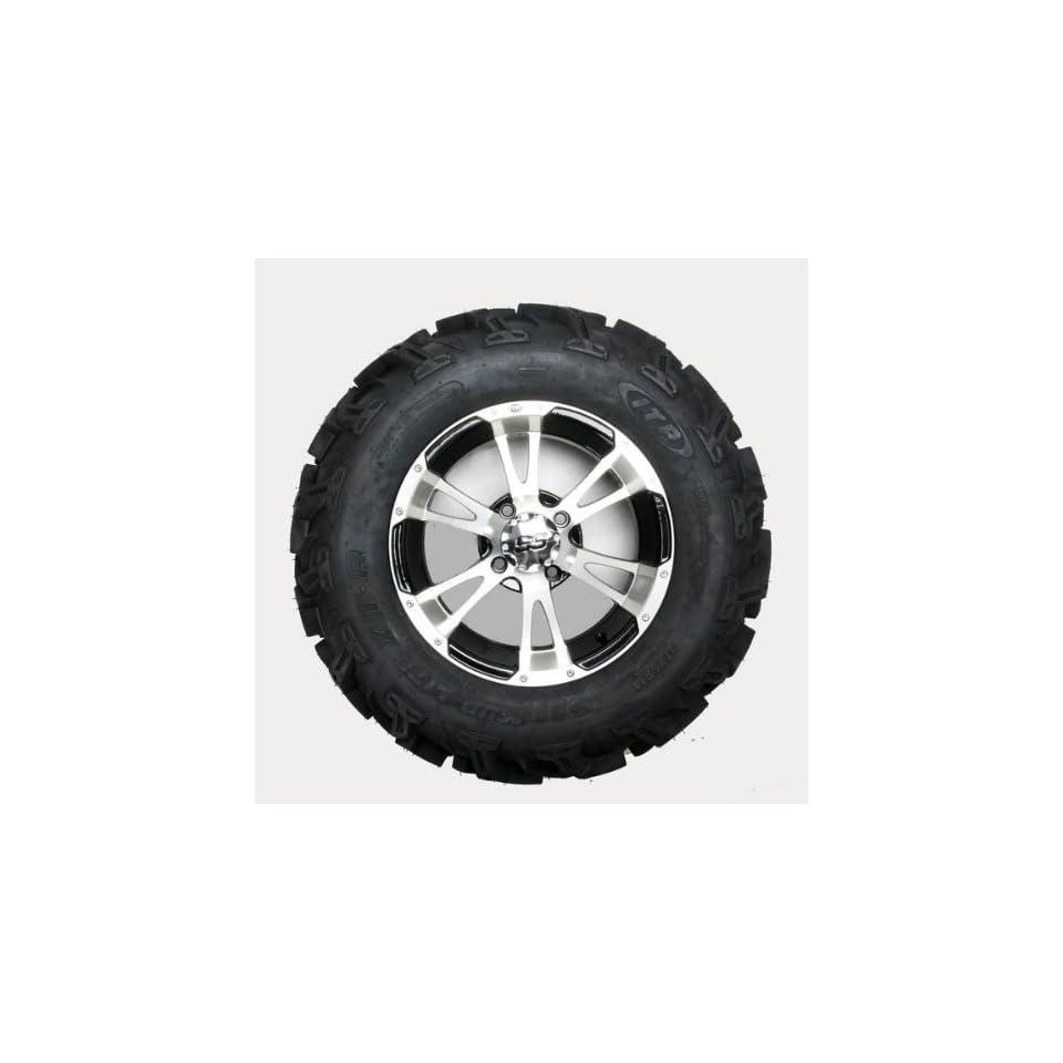 ITP Mud Lite XTR, SS112, Tire/Wheel Kit   27x9Rx14   Machined 43114R
